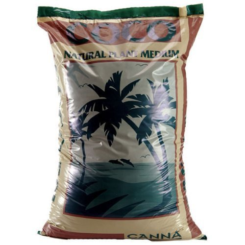 - CANNA Organic Coco Substrate Bag RHP Certified, 50 L