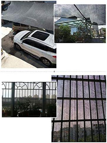 Reticolato Dell'ombra, per Il Giardino della Tettoia della Tettoia del Balcone, Rete della Protezione Solare Criptata Addensata Nera