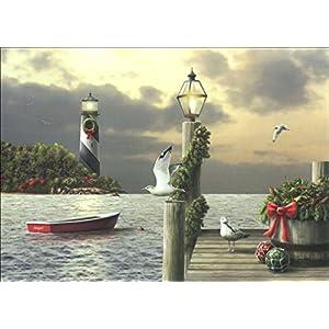 51gj%2BpoQqFL._SS300_ Beach Christmas Cards and Nautical Christmas Cards