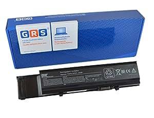 GRS–Batería con 6600mAh para Dell Vostro 3400, 3700, 3500, sustituye a: 7FJ92, 4JK6R, 312–0998, CYDWV, 312–0997, 04D3C, 0TY3P4, 0TXWRR, 04GN0G, Y5X F9, Laptop Batería 6600mAh, 11.1V