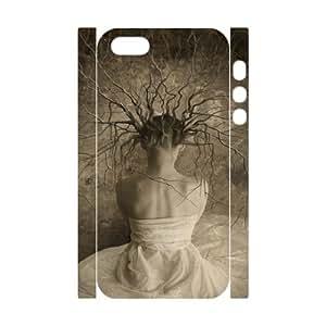 Iphone 5,5S The elves 3D Art Print Design Phone Back Case DIY Hard Shell Protection LK076354