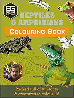 Bear Grylls Colouring Books: Reptiles (Bear Grylls Activity)