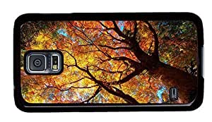 Hipster buy Samsung S5 Cases autumn tree PC Black for Samsung S5