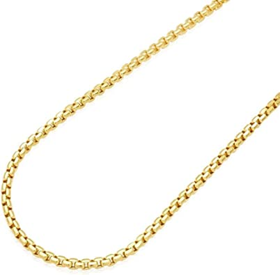 22 Gold Cable Chain Solid 14k Gold Cable Chain Necklace 1.5mm Cable Chain Real Gold Pendent or Layer Chain Minimalist Women Chain