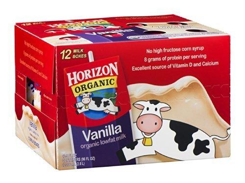 HORIZON MILK RDCD FAT 12VNLA 8Z, 96 OZ by HORIZON ORGANIC DAIRY (Image #1)