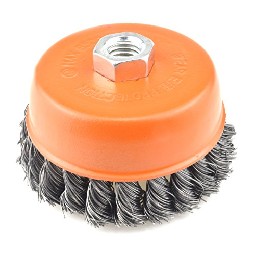 4 1 2 wire cup brush - 2
