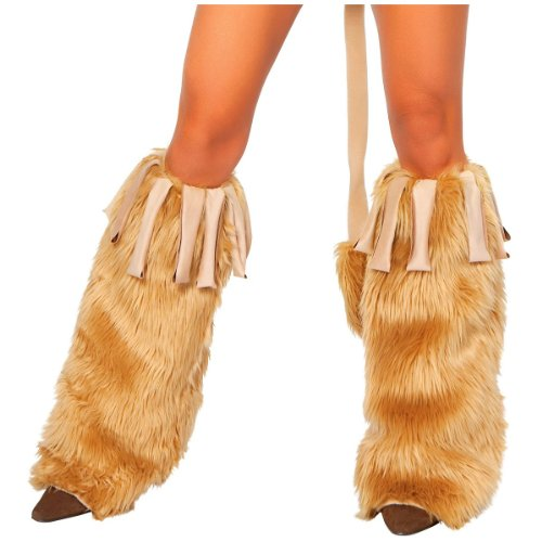 Roma Costume Courageous Lioness Leg Warmer, Honey, One Size - Roma Courageous Lioness Costume