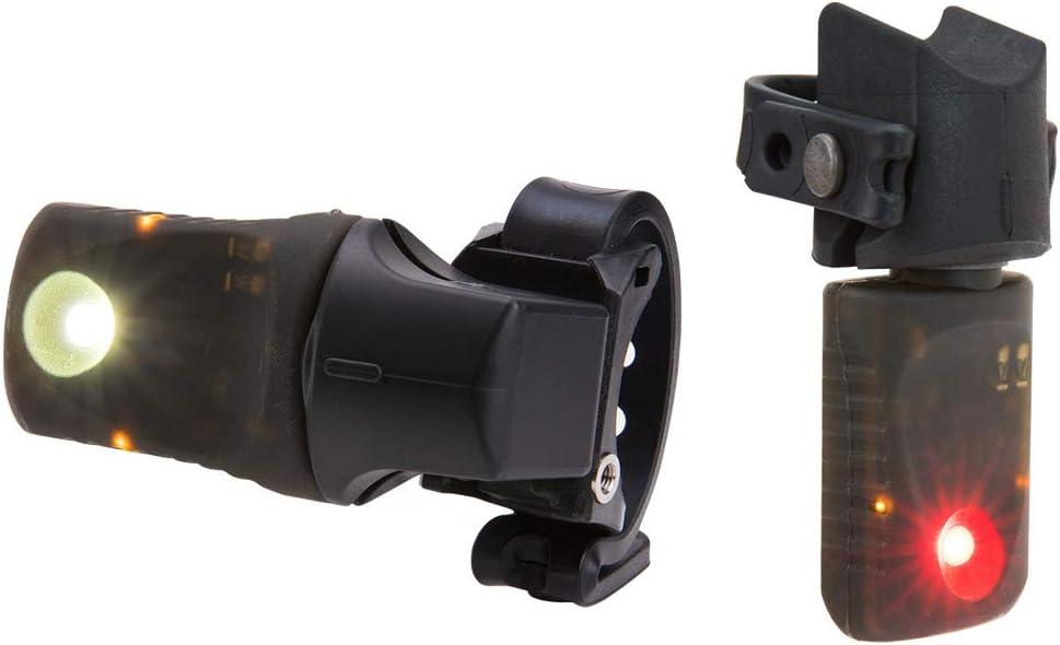 Light /& Motion Vya Pro Commuter Front 200//Rear 100 Lumens Combo Light Set