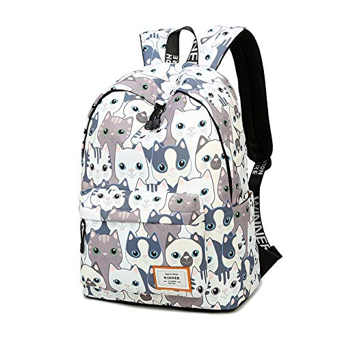 Shipe School Bookbags for Teens, Girls Laptop Bag Floral Backpack College  Bags young people Daypack e9e5813c11