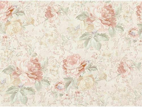 サンゲツ ファイン 壁紙 (クロス) 糊なし/のり無し (FE6472) 【1m×注文数】 巾92cm   リッチ Rich 花柄・ピンク