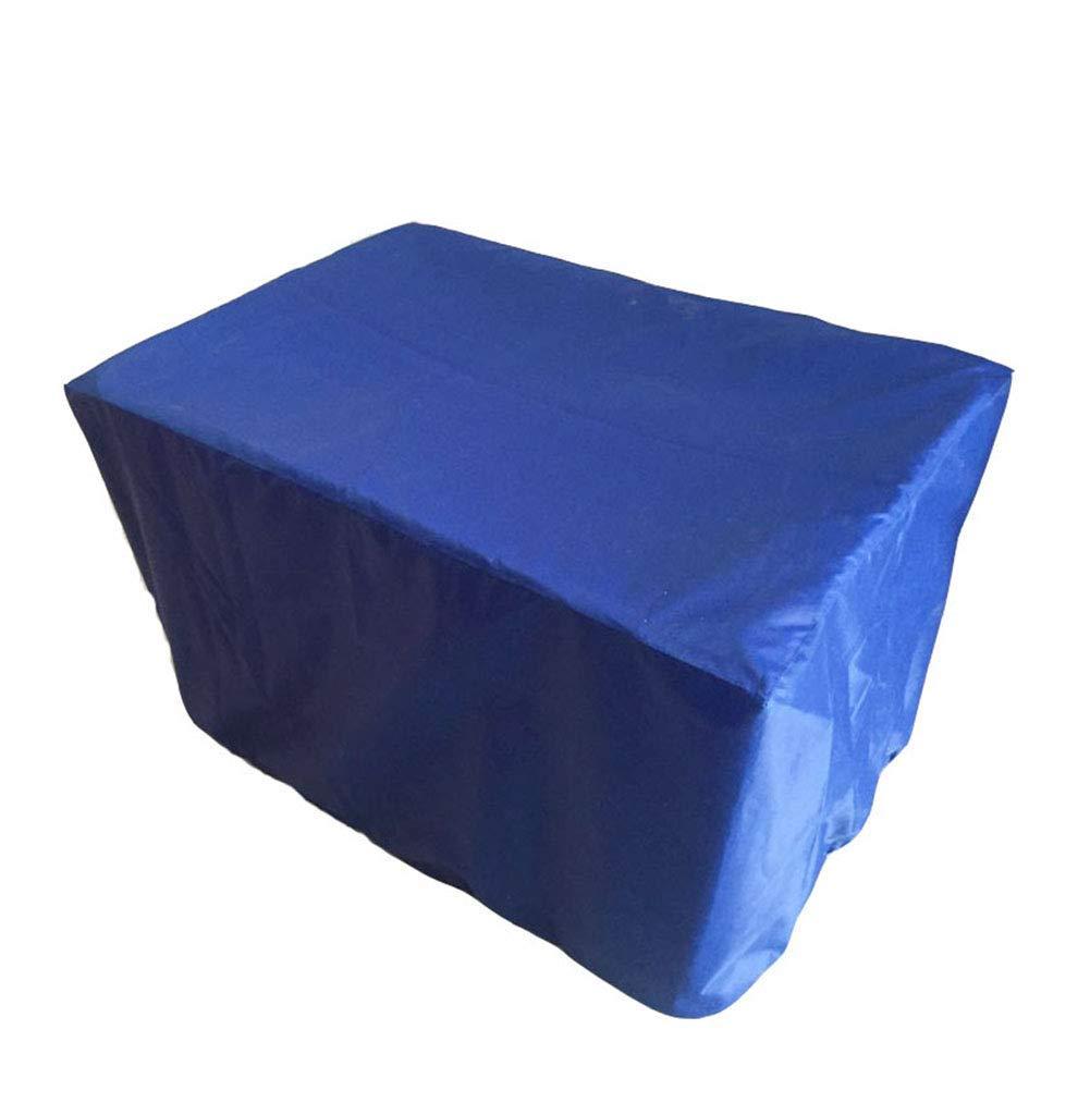 Bleu 120x120x74cm 6-WUTOLUOHANS Tente exterieure Jardin Exterieur niture Couverture de Pluie Couverture de Table et Chaise Etanche