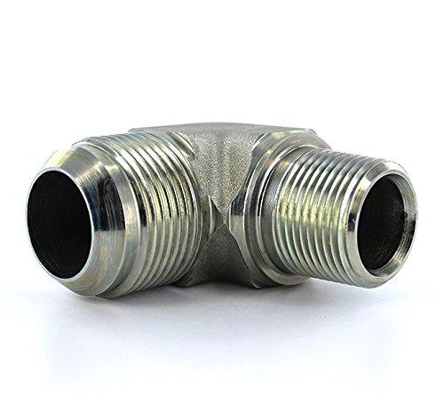 Parker 16-12 CTX-S Male Adapter Elbow 1 Inch JIC X 3//4 NPT Steel