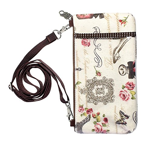 Demi wallet Pochette Pouch Printing Casual Shoulder Beautiful travel Crossbody Dolly Purse French wYn7F4qzx