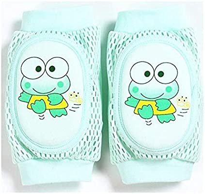Baby Toddler Breathable Mesh Cotton Cartoon Crawling Elbow Knee Pads Protector
