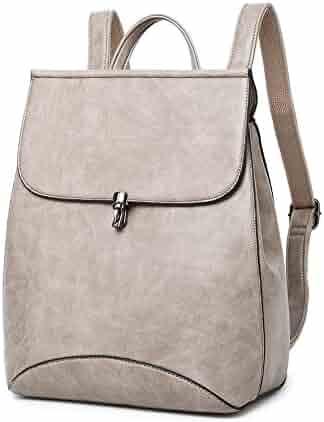 WINK KANGAROO Fashion Shoulder Bag Rucksack PU Leather Women Girls Ladies Backpack  Travel bag 445d8788bacc3