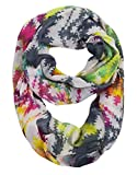 Peach Couture Aesthetic Peaceful Multi color Scarf Infinity Scarf Circle Loops Rainbow Scarf offers