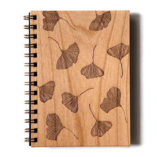 Lasercut Wood Journal