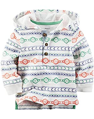 Carter's Baby Boy Hooded Henley