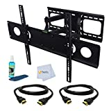 Dual Arm Articulating Wall Mount for Sony 50