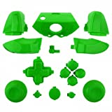 ModFreakz® Full Button Set Thumbsticks Solid Green For Xbox One Model 1537 Controllers