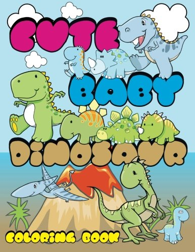 Cute Dinosaur Coloring Super Books product image