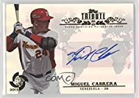 Miguel Cabrera (Baseball Card) 2013 Topps Tribute WBC - Autographs #WTA-MC2
