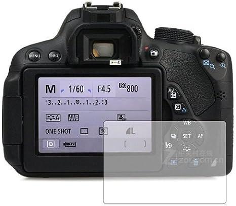 Membrane 3 x Protector de Pantalla compatibles con Canon EOS 700D ...