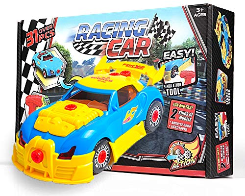 Take Apart Toy Race Car for Toddlers, Build A Car Kit for sale  Delivered anywhere in USA
