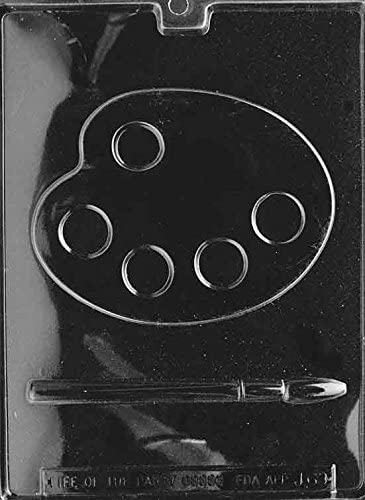Palette Brush Chocolate Mold Instructions product image