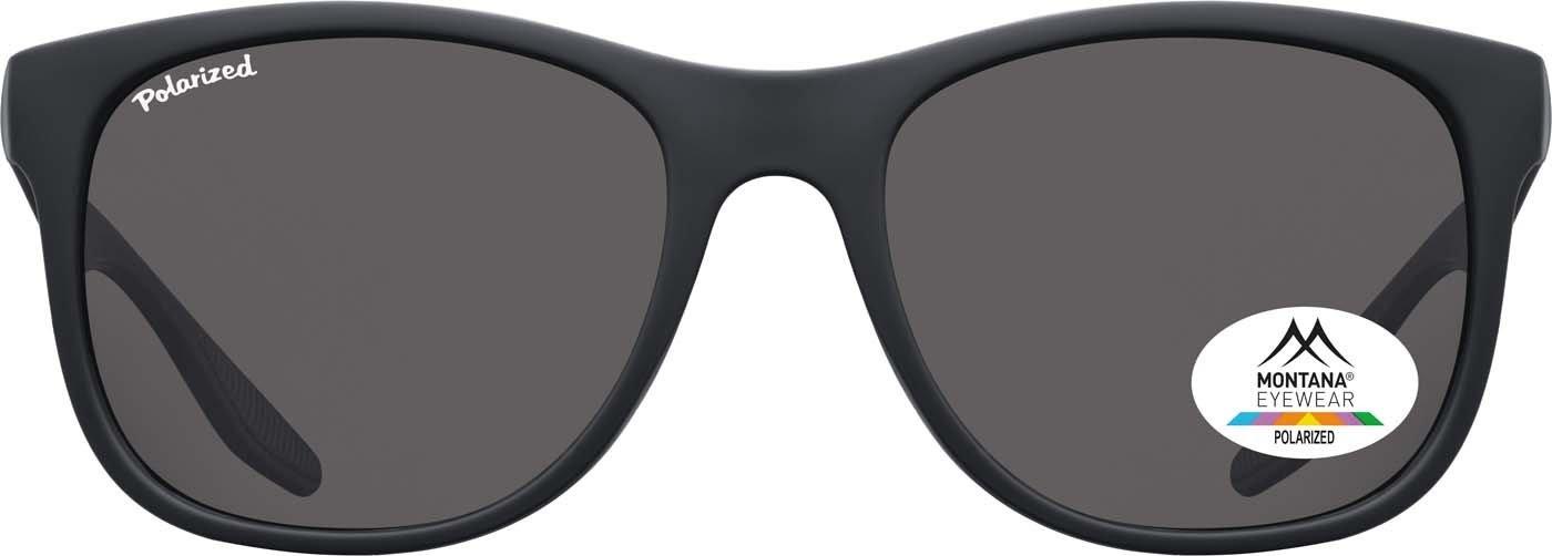 Montana Gafas Sunoptic MS 313 gafas de sol en negro incluyendo bolsa de tela