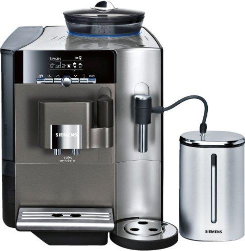 Siemens TE716501DE EQ.7 - Cafetera automática, color granito ...