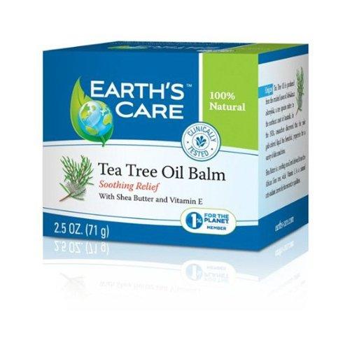Earth's Care Tea Tree Oil Balm - 2.5 oz