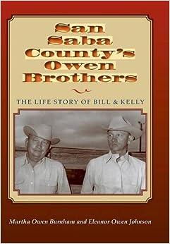 Book San Saba Countys Owen Brothers