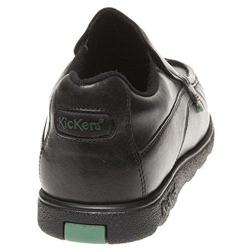 para Negro Kickers Lthr MTO Hombre Fragma15 Slip Am Mocasines z1wqOz