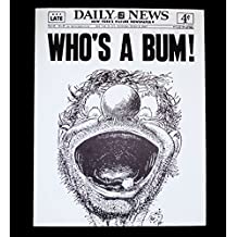 """BROOKLYN DODGERS OCTOBER 5, 1955 11x14 PHOTO NY DAILY NEWS COVER """"WHO'S A BUM!"""""""