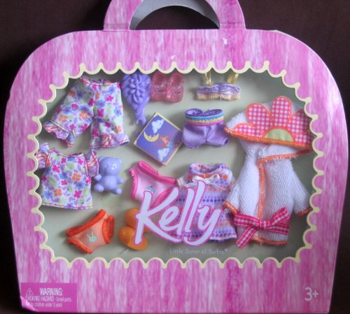 Amazon Com Kelly Pj S And More Outfits And Shoes Barbie Toys Games