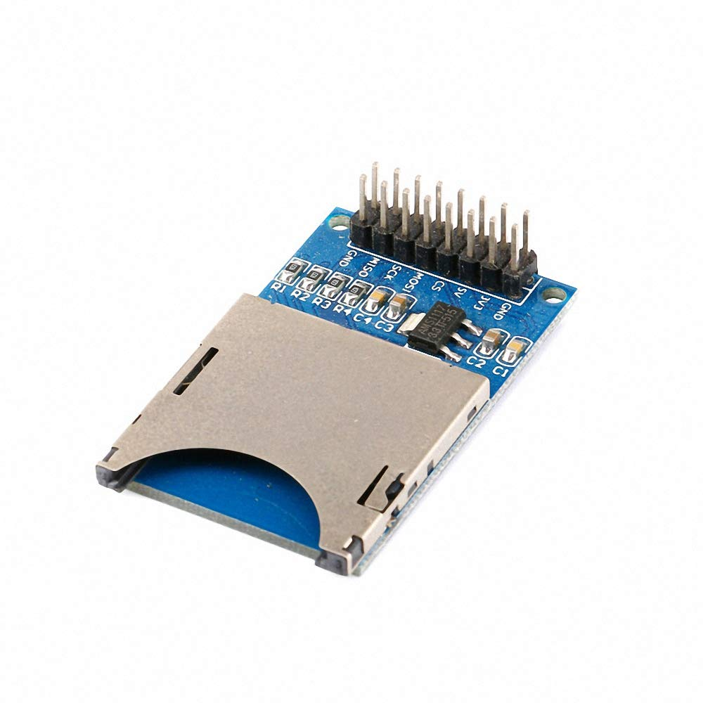 5pcs//lot SD Card Module Reading and Writing Module Slot Socket Reader for ARM MCU 48mmx31mm for Arduino