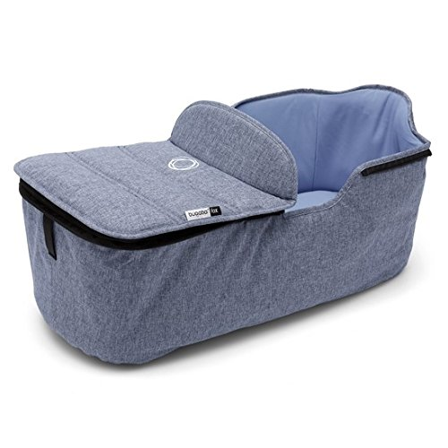 Bugaboo Fox Bassinet Tailored Fabric Set in Blue Melange