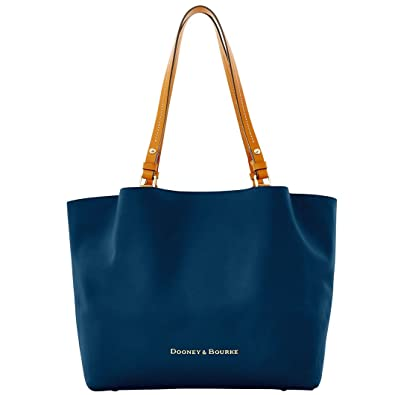 a95cc3c26 Amazon.com: Dooney & Bourke City Tote FLYNN Midnight Blue: Shoes