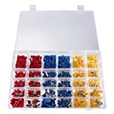 Stanz (TM) 480Pcs Assorted Crimp Terminal Set Insulated Electrical Wiring Connector Kit