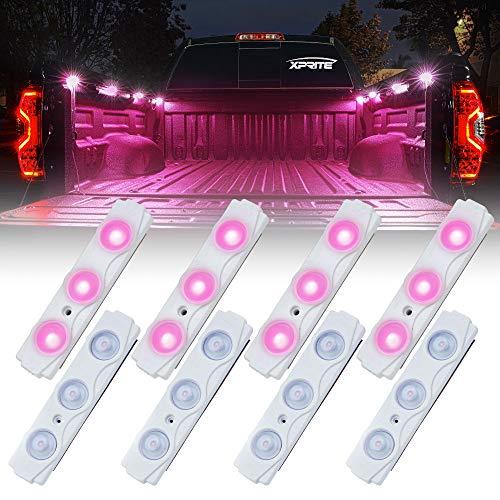car lights pink - 7