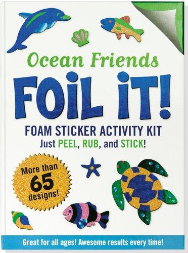 Ocean Friends Foil It! (Foam Sticker Activity Kit)
