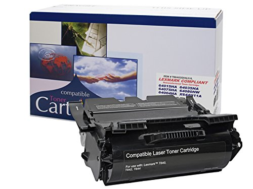 Remanufactured Toner Cartridge Replacement for LEXMARK T640-T642-T644 - X642- X644- X646 - HY SERIES (Series T644 Printers T642)