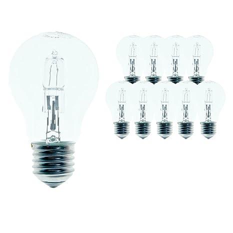 Osram A Classic Pro Energy Saver 64543A - 10 bombillas halógenas (46 W, equivalente