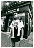 Vintage photo of MARY QUANT in Carnaby Street