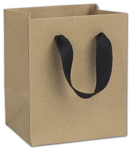 100 Chelsea Kraft Manhattan Gift Paper Bags Eco Euro-Shoppers 5 x 4 x 6