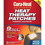 Cura-Heat Therapeutic Heat Pack for Back, Shoulder and Neck Pain, 3 Count