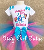 Bubble Guppies Molly and Oona Birthday Outfit Tutu