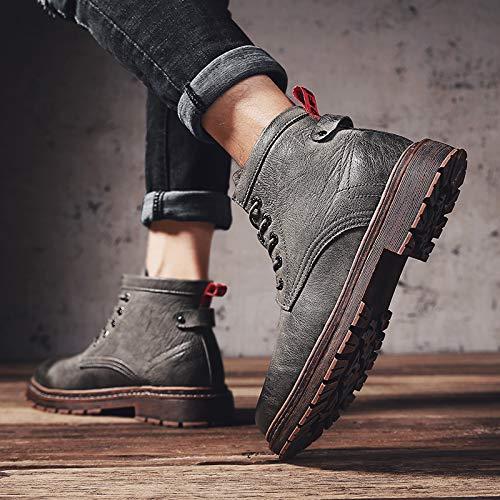 EAOJRSCSA Winter Martin Stiefel Herren Herren Herren High-Top Schuhe In den Stiefeln, Wildstiefel, Herrenstiefel, Stiefel, Stiefel, Militärstiefel c577af
