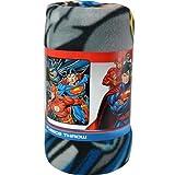 marvel heroes blanket - Justice League 46x60
